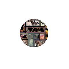 AFTM Horse Collage Mini Button