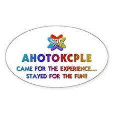 AHOTOKCPLE Products Oval Decal