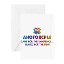 AHOTOKCPLE Products Greeting Cards (Pk of 10)