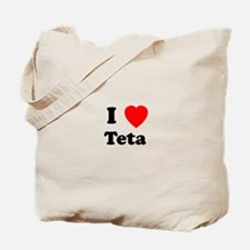 I heart Teta Tote Bag