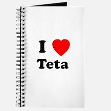 I heart Teta Journal