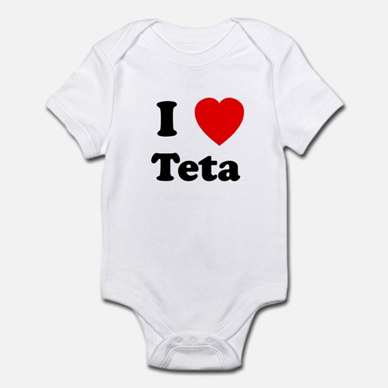 I heart Teta Infant Bodysuit