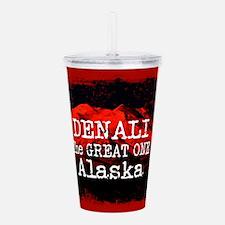 DENALI MOUNTAIN ALASKA Acrylic Double-wall Tumbler