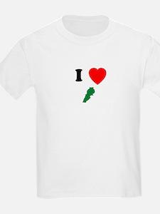 I heart Map T-Shirt