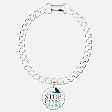 stop finning sharks Bracelet