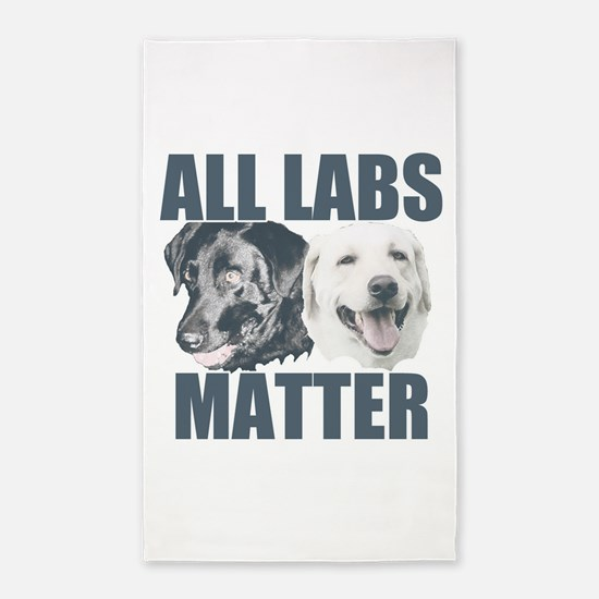 All Labs Matter Area Rug