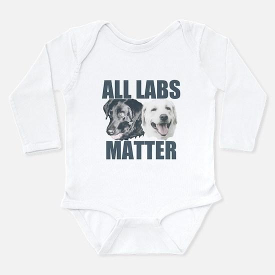 All Labs Matter Long Sleeve Infant Bodysuit