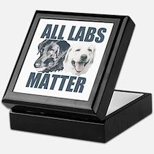 All Labs Matter Keepsake Box