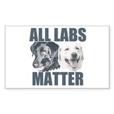 All Labs Matter Decal