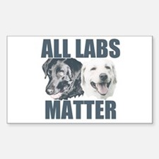 All Labs Matter Sticker (Rectangle)