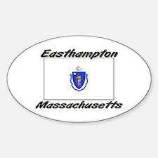 Easthampton Massachusetts Oval Decal