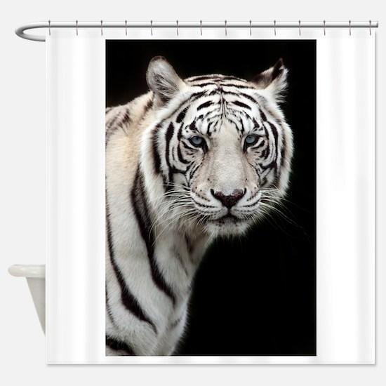 tiger1.jpg Shower Curtain