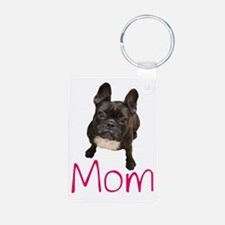 Funny French bull dogs Keychains