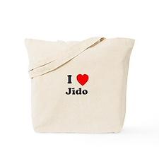 I heart Jido Tote Bag