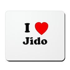 I heart Jido Mousepad