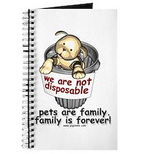 Not disposable Journal
