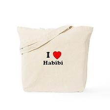 I heart Habibi Tote Bag