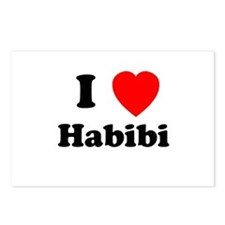 I heart Habibi Postcards (Package of 8)