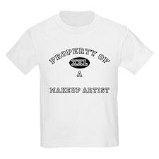 Property of a Makeup Artist T-Shirt