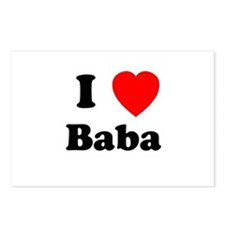 I heart Baba Postcards (Package of 8)