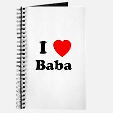 I heart Baba Journal