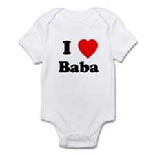 I heart Baba Infant Bodysuit