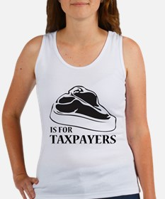 STEAK IS FOR TAXPAYERS! Tank Top