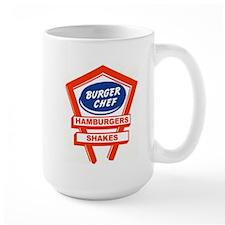 1960's Burger Chef Logo Mugs