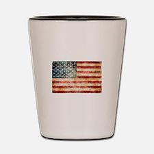 American Flag in all her glory Shot Glass