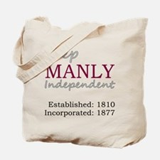 Manly DS Tote Bag