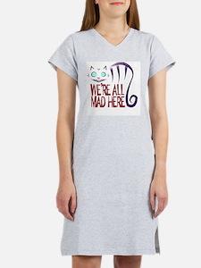 Cute Cheshire cat Women's Nightshirt