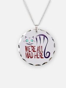Funny Alice in wonderland Necklace