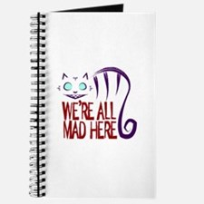 Funny Cheshire cat Journal