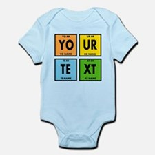 Your Text Periodic Elements Nerd S Infant Bodysuit