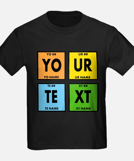 Your Text Periodic Elements Nerd T