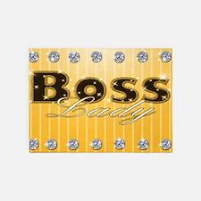 Boss Lady Diamond Life 5'x7'Area Rug