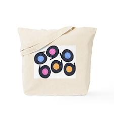 Licorice Catherine Wheels Tote Bag