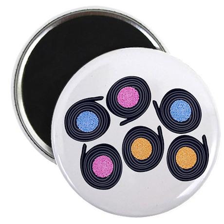 Licorice Catherine Wheels Magnet