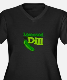 Licensed To Dill Plus Size T-Shirt