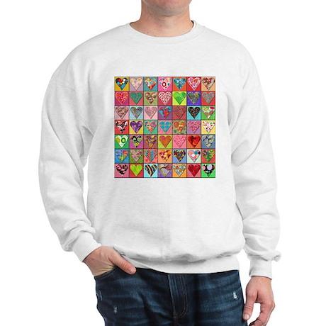 Heart Quilt Sweatshirt