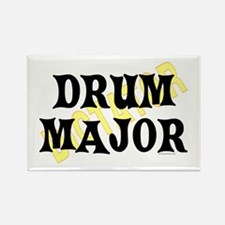 Drum Major Rectangle Magnet