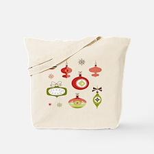 Mid Century Modern Ornament Pattern Tote Bag