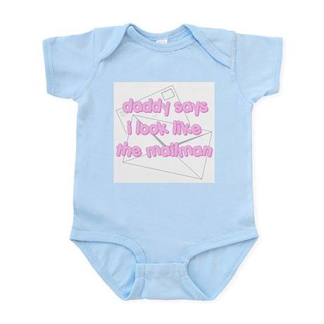 Mailman Pink Infant Bodysuit
