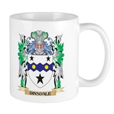 Dinsdale Coat of Arms (Family Crest) Mugs