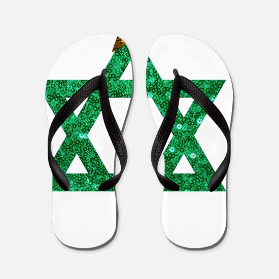 Unique Chanukkah Flip Flops
