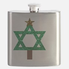 Unique Hannukah Flask