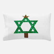 christmukkah christmas tree Pillow Case