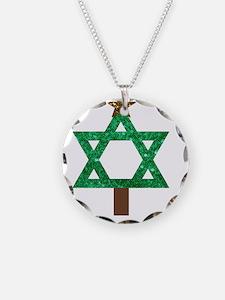 christmukkah christmas tree Necklace