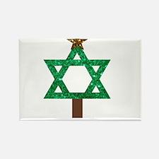 christmukkah christmas tree Magnets