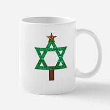 christmukkah christmas tree Mugs
